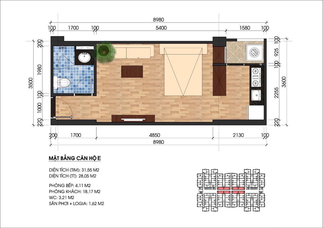 Unico Thang Long Apartment