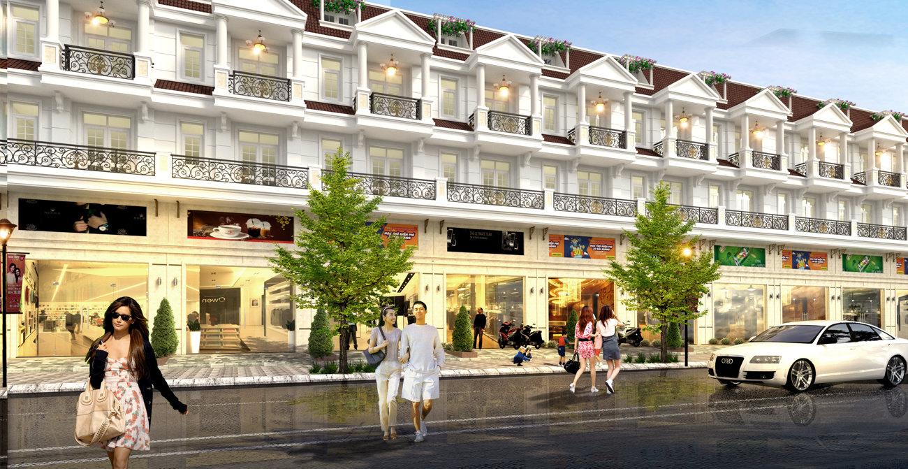 Nhà phố Bình Dương – Dự án Phúc Đạt