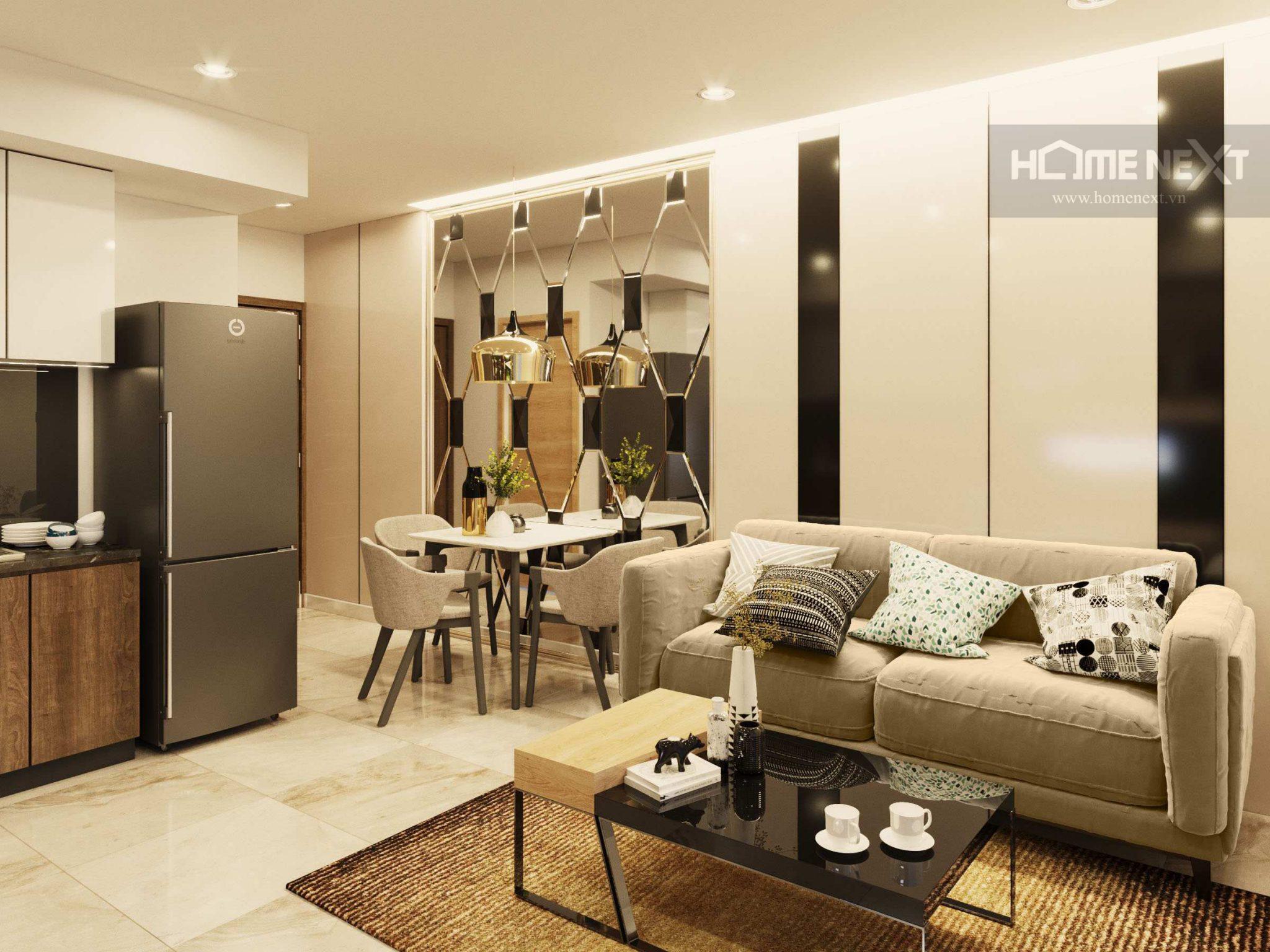 Bán căn hộ Thịnh Gia Tower 1 phòng ngủ