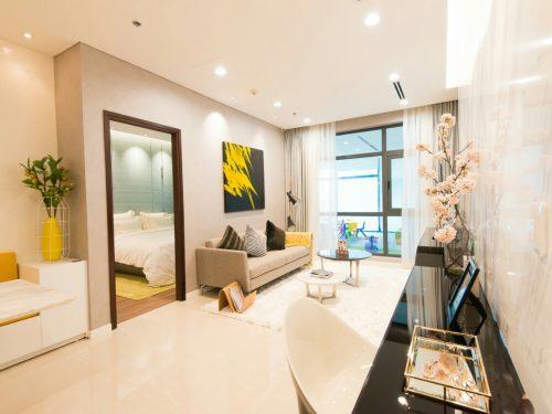 Mua bán lại căn hộ The Habitat Bình Dương tầng trệt