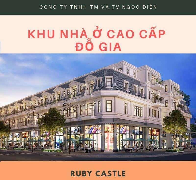 Nhà phố 2 tầng Bình Dương- Ruby Castle