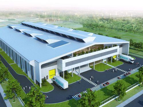Nhà xưởng 4700m2 Khu công nghiệp Đồng An 2
