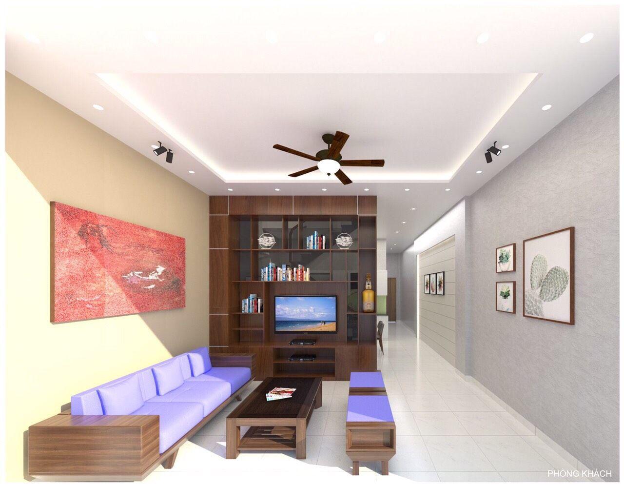 Bán nhà 1 trệt 1 lầu phường Phú Hòa