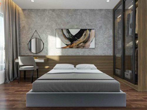 Căn hộ chung cư C Skyview Bình Dương 1 phòng ngủ
