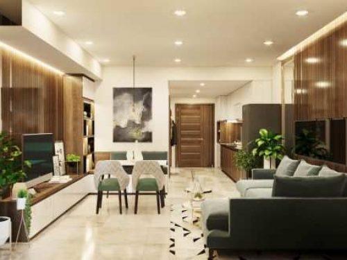 Chung cư Thịnh Gia – Căn hộ 2 phòng ngủ