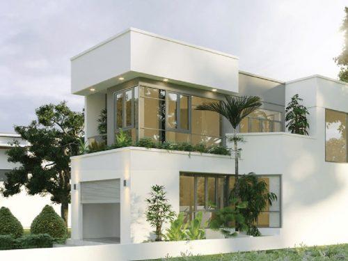 Bán nhà mặt tiền phường Phú Mỹ Thủ Dầu Một, Bình Dương