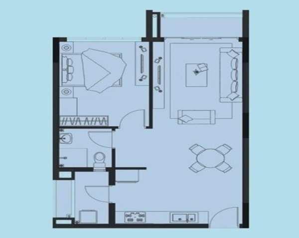 Thiết kế căn hộ chung cư eco xuân