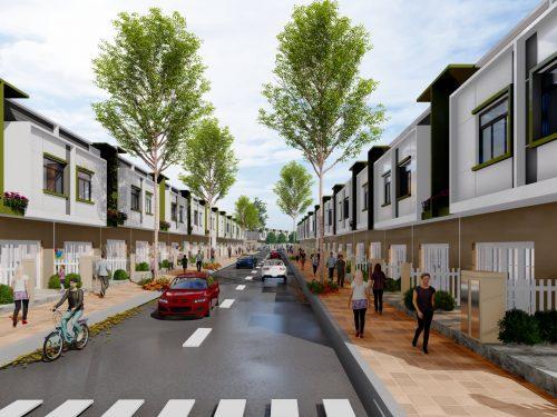 Bán nhà phố liên kế EcoHome 2 – Bến Cát