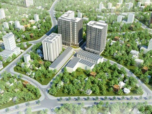 Bán căn hộ Alva Plaza Thuận An – 3 phòng ngủ