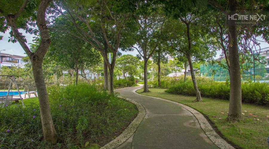 Công viên xanh của căn hộ Eco Xuân Bình Dương