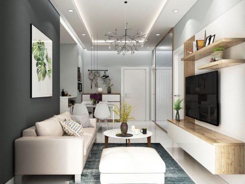 Cho thuê căn hộ Midori Park The View 2 phòng ngủ