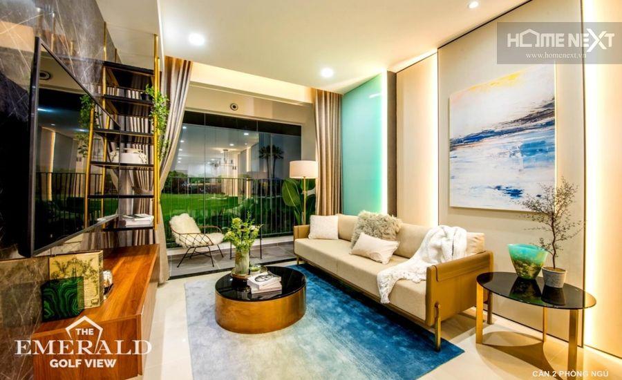 Bán căn hộ The Emerald Golf View Thuận An – 2 phòng ngủ