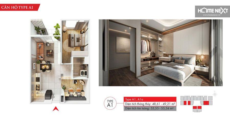 dự án căn hộ astral city 1 phòng ngủ