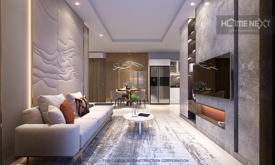 thiết kế nội thất Rivana 2 phòng ngủ