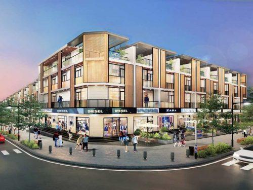 Bán Shophouse dự án Takara Residence – 1 trệt 3 lầu