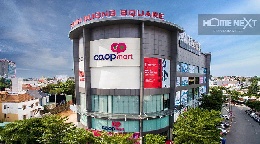 Trung tâm thương mại Bình Dương Square ngay Biconsi Tower