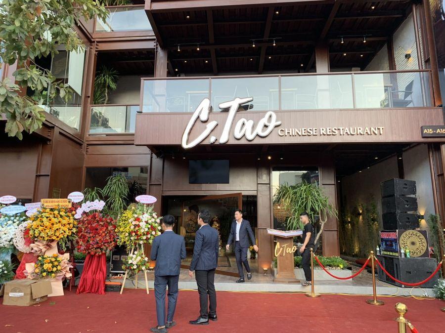 Chuỗi nhà hàng hạng sang C-Tao của Cường Đô La